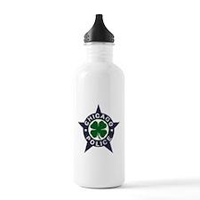 Chicago Police Irish Badge Water Bottle