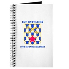 DUI - 1st Bn - 16th Infantry Regt with Text Journa