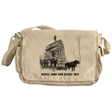 Manly Men Messenger Bag