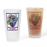 science brain Drinking Glass
