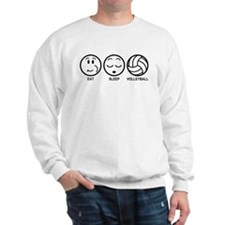 Eat Sleep Volleyball Sweatshirt