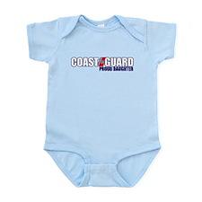 USCG Daughter Infant Bodysuit