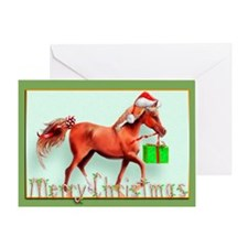 Red Delivery (Blank) Greeting Card