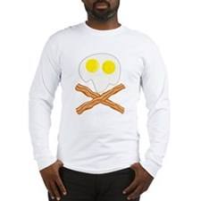 Breakfast Pirate Long Sleeve T-Shirt