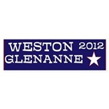 Weston for President Bumper Sticker