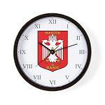 Masonic 33rd degree Wall Clock- white eagle