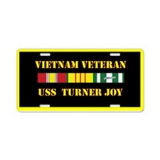 USS Turner Joy Aluminum License Plate