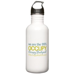 Occupy Budapest Water Bottle