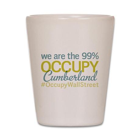 Occupy Cumberland Shot Glass