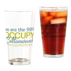 Occupy Cottonwood Drinking Glass