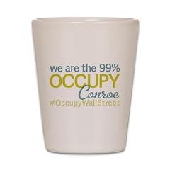 Occupy Conroe Shot Glass