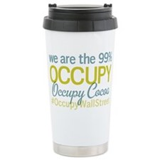 Occupy Cocoa Ceramic Travel Mug