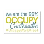 Occupy Coatesville Car Magnet 20 x 12