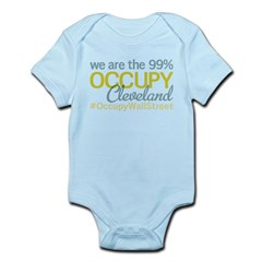 Occupy Cleveland Infant Bodysuit
