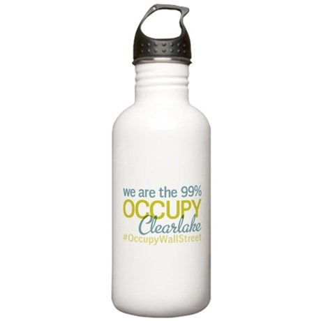 Occupy Clearlake Stainless Water Bottle 1.0L