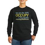 Occupy Clearlake Long Sleeve Dark T-Shirt