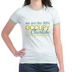 Occupy Clearlake Jr. Ringer T-Shirt