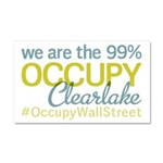 Occupy Clearlake Car Magnet 20 x 12