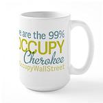 Occupy Cherokee Large Mug