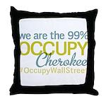 Occupy Cherokee Throw Pillow