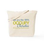 Occupy Cherokee Tote Bag