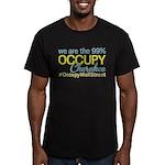 Occupy Cherokee Men's Fitted T-Shirt (dark)