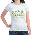 Occupy Cherokee Jr. Ringer T-Shirt