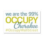 Occupy Cherokee Car Magnet 20 x 12