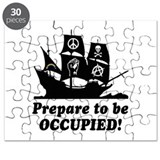 Prepare to Be Occupied Pirate Occupy Puzzle