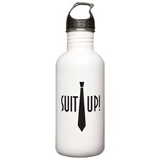 Suit Up! Water Bottle