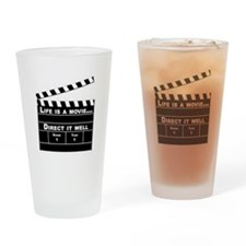 Life is a Movie Drinking Glass