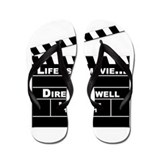 Life is a Movie Flip Flops