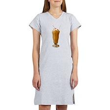 Chocolate Milkshake Women's Nightshirt