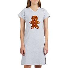Gingerbread Man Women's Nightshirt