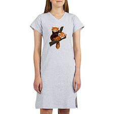Cute Red panda Women's Nightshirt