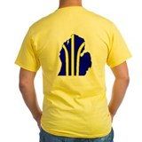 Michigan T-Shirt (Yellow)