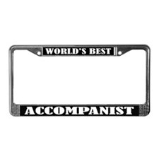 Accompanist Gift License Plate Frame