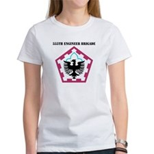 SSI - 555th Engineer Brigade with Text Tee