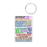 Funny Scrubs Quotes Aluminum Photo Keychain