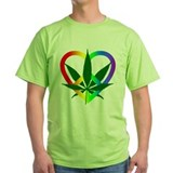 Peace Love and Pot T-Shirt