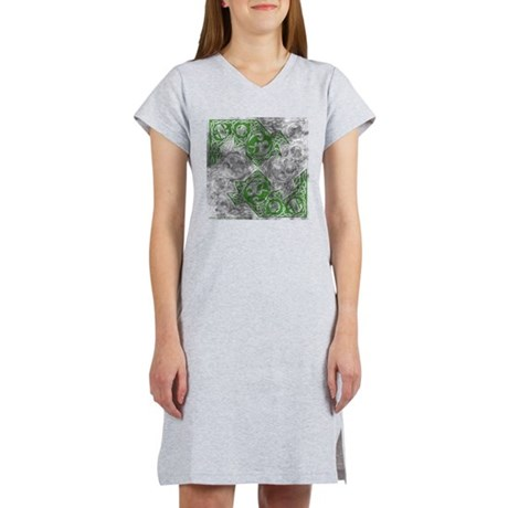Celtic Puzzle Square Women's Nightshirt