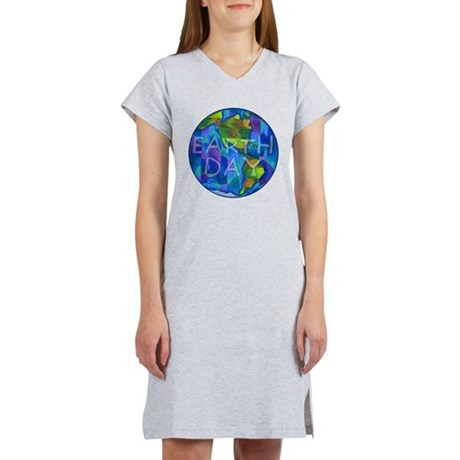 Earth Day Planet Women's Nightshirt