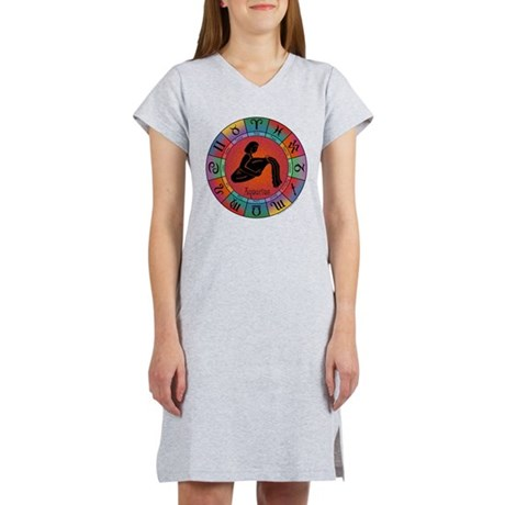Aquarius Water Bearer Women's Nightshirt