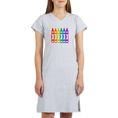 Crayon 6-Pack Women's Nightshirt