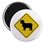 Sheep Crossing Sign Magnet