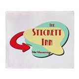 Stickett Inn Throw Blanket