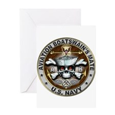 USN Aviation Boatswains Mate Greeting Card