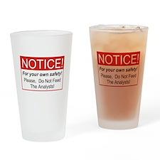 Notice / Analysts Drinking Glass