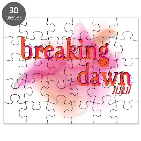Breaking Dawn Abstract Puzzle