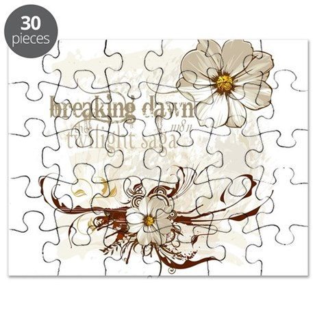 Breaking Dawn Floral Puzzle